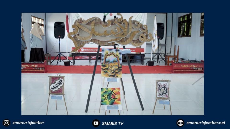 Meriah!!! Rayakan Harlah Nuris ke-40, SMA Nuris Jember Gelar Nuris Calligraphy Exhibition