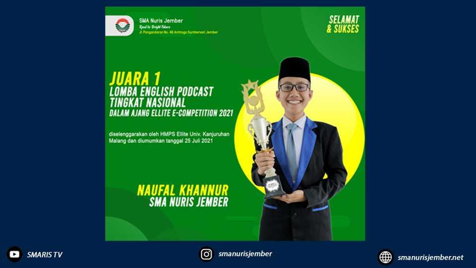 Santri Nuris Siap Mendunia, Borong Juara Ajang Ellite E-Competition 2021 Tingkat Nasional
