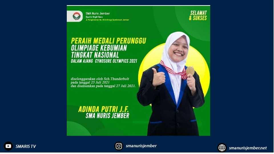 Mantul Bingit Nih, Dua Santri Jenius Ini Rajin Rebut Medali Olimpiade Mapel Sains Nasional