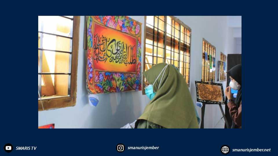 """Nuris Caligraphy Exhibition Fantastis, """"Nuris Cahaya Islam di Timur Jawa"""""""
